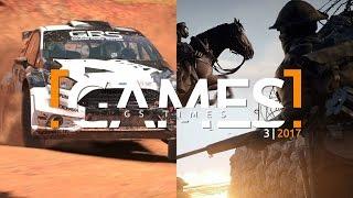 GS Times [GAMES] 3 (2017). DiRT 4, Pillars of Eternity 2: Deadfire, Battlefield 1