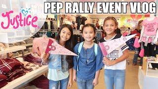 JUSTICE Pep Rally Vlog 💖😁