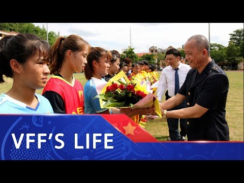 Sôi động ngày khai mạc giải bóng đá nữ Vô địch U16 Quốc gia 2019
