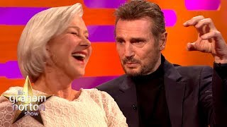 Liam Neeson Discusses His Sex Scene With Ex Girlfriend Helen Mirren | The Graham Norton Show