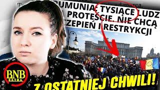 RUMUNIA WALCZY! WIELKIE PROTESTY
