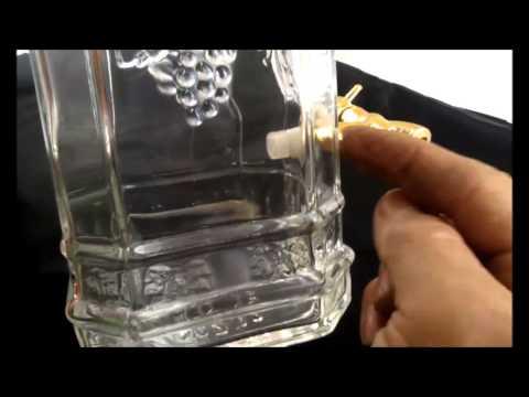 Návod jak utahovat vypouštěcí ventil / kohoutek na lahvích