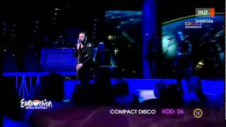 Eurovision Hungary 2012 Compact Disco Sound of our hearts