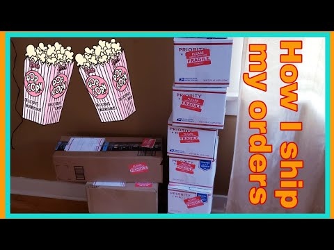 , title : 'How I Packaged & Shipped my Popcorn Orders