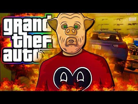 GTA 5 - ALL OUT WAR!  (Free Roam!)