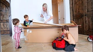 Building New Furniture With The Kids!