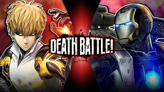 Genos VS War Machine (One Punch Man VS Marvel's Iron Man) | DEATH BATTLE!