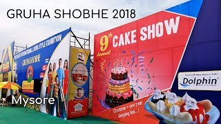 Gruha Shobhe Living Style Exhibition 2018 at Maharaja College Ground Mysore 2018