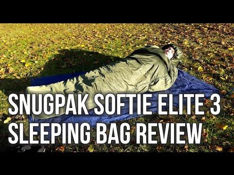 Snugpak Softie Elite 3 Sleeping Bag Review Full HD