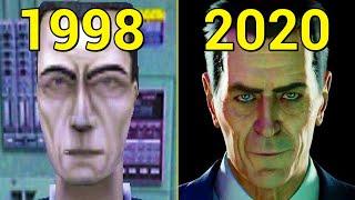 Evolution of Half-Life Games 1998-2020