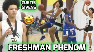 Freshman Curtis Givens Is NEXT UP! Smooth, Crafty PG Is One Of Most ELITE Prospects In 2024 Class 🤩