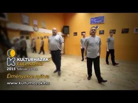 Kultúrházak éjjel-nappal 2015. reklámspot