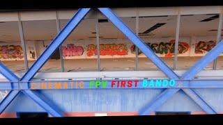 PRIMO BANDO FPV CON CINEWHOOP!!! [URBEX Drone Italia]