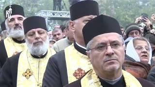 Патриарх Кирилл принял участие в торжественном богослужении на Патриаршем холме в Бухаресте