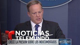 Once millones de indocumentados en peligro de deportación | Noticiero | Noticias Telemundo