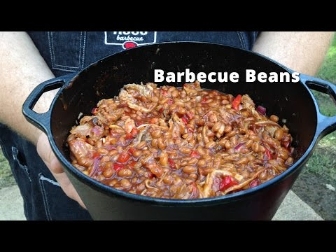 Barbecue Baked Beans on the Smoker | Smoked Baked Beans Malcom Reed HowToBBQRight
