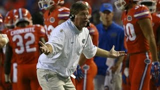 Watch Florida's Jim McElwain Furious With RB Kelvin Taylor   CampusInsiders