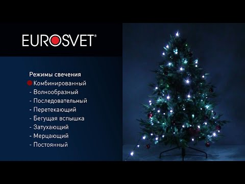 Видео Праздничная гирлянда (5м IP20)