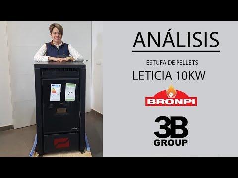 Análisis: Estufa de pellets Bronpi Leticia 10KW