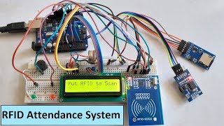 rfid attendance system using arduino - मुफ्त