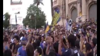preview picture of video '12-12-12 Dia Del hincha Xeneize (Bahia Blanca)'