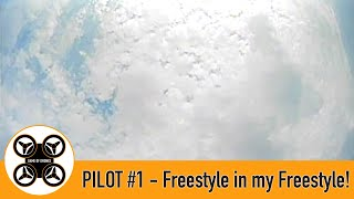 Game of Drones - Pilot #1 - FPV - Some Freestyle in my Freestyle!