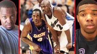 KOBE BRYANT VS MICHAEL JORDAN REMATCH! - NBA LIVE 2003   #ThrowbackThursday ft. Juice