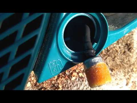 Топливный фильтр. Разборка карбюратора и ремонт бензопилы Makita своими руками.