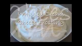 How To Make Light And Fluffy Whipped Cream Cheese Frosting | Best Cream Cheese Frosting | Episode 10