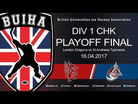 BUIHA Division 1 Playoff Final