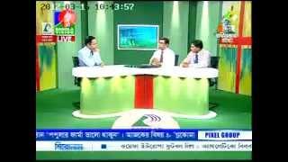 TV intv on World Glaucoma Day at Bangla Vision