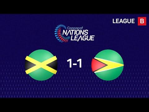 Ямайка - Гайана 1:1. Видеообзор матча 19.11.2019. Видео голов и опасных моментов игры