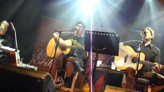 I don't wish you were dead anymore - Bowling for soup - Acoustic with Jaret and Erik - London