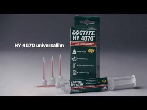 Reparere en ripete eller ødelagt støtfanger med LOCTITE HY 4070 universallim (NO)
