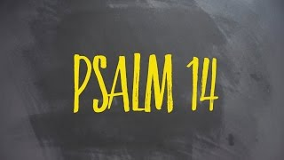 PLASTER MIODU. Psalm 14: Nie ma Boga!