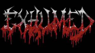 exhumed-excreting innards
