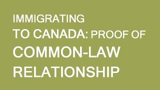 Common Law Partnership. How to prove it