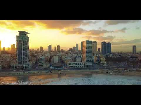 Amanecer en Tel-Aviv, ¡Qué vista!
