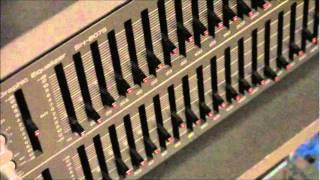 Technics SH-8075 Graphic Equaliser 33band.wmv