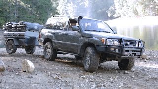 LX470 Superharged with Doug Thorley headers and EMS mid pip