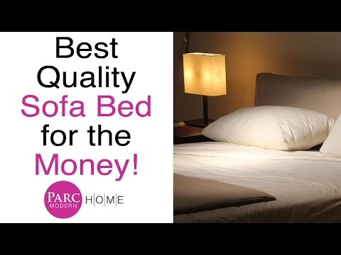 Best Quality Sofa Bed Furniture for the Money Review | Parc Modern