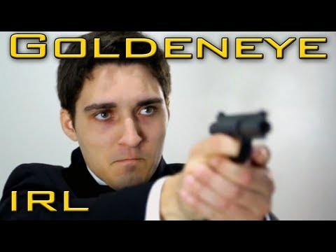 This Real-Life GoldenEye Reenactment Is Slappers-Only