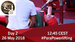 Women's Up to 55kg | World Para Powerlifting European Open Championships | Kholo.pk