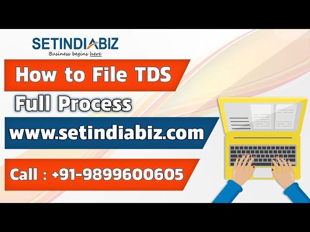 Tax Deduction At Source Tds Deduction Setindiabiz