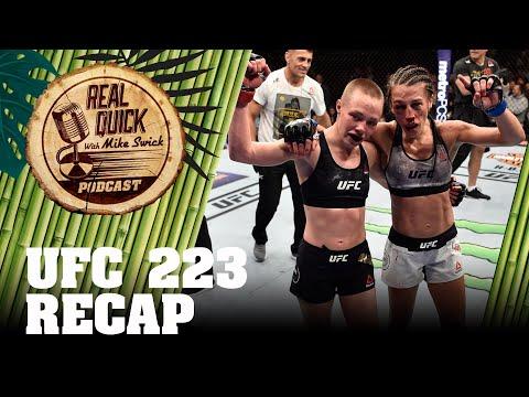 Ep #22.5 UFC 223 Recap – Khabib Nurmagomedov vs Al Iaquinta