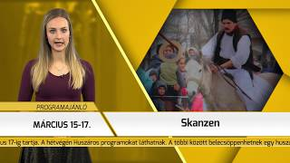 Programajánló / TV Szentendre / 2019.03.14.