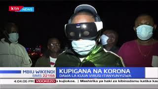 Sonko appears in 'unique' Coronavirus safety gear