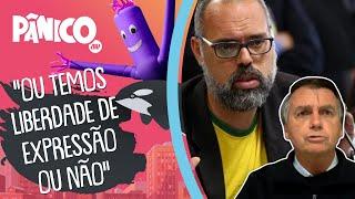 Bolsonaro fala sobre prisão de Allan dos Santos e ameaças à liberdade de expressão