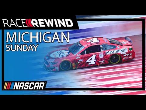 NASCAR コンシューマーエナジー400(ミシガン・インターナショナル・スピードウェイ)15分でみるハイライト動画