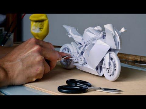 Building a Paper Bike